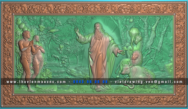 D002 – BỘ ĐIÊU KHẮC TƯỢNG VOL.1 (72 MẪU)